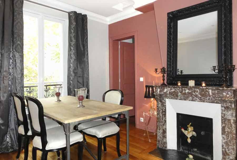 Exemple après rénovation intérieure - Entreprise Les Goûts et Les Couleurs Paris Montmorency