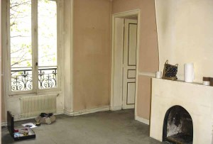 Exemple avant rénovation intérieure - Entreprise Les Goûts et Les Couleurs Paris Montmorency