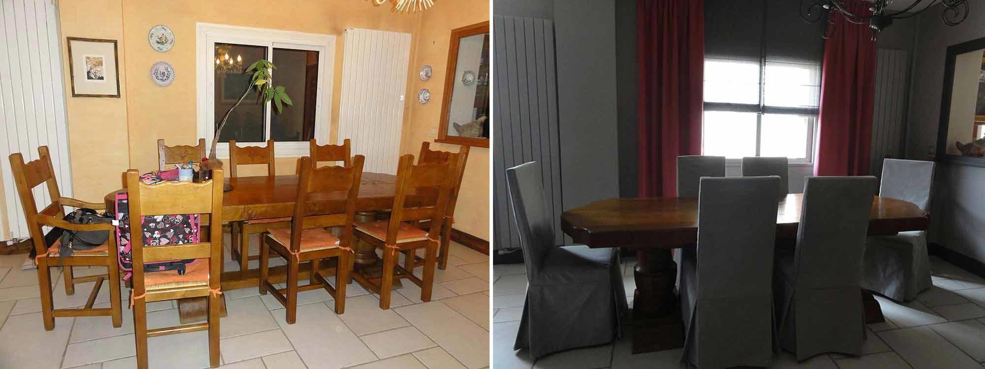 Exemples avant apr s r novation int rieure lgelc paris for Renovation salle a manger et salon