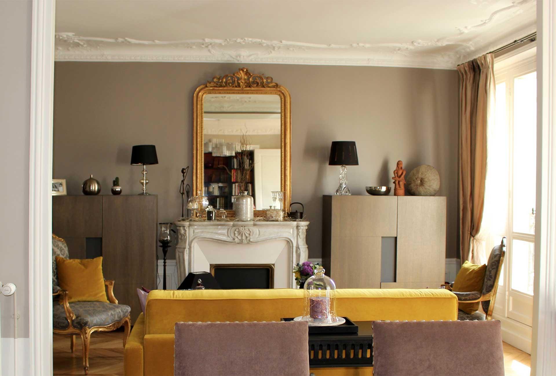 Entreprise de coordination de travaux d'intérieur à Paris 7, rénovation entière de maisons et villas.