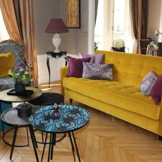 Décoratrice d'intérieurs appartements, lofts, studios, chambres de bonnes Paris 7ième
