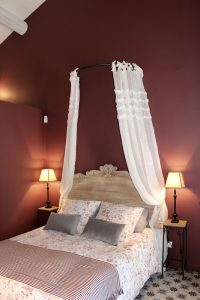 Décoration intérieur de chambre à coucher Paris 7ième